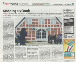 Mobbing als Comic