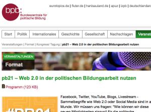 Screenshot bpb